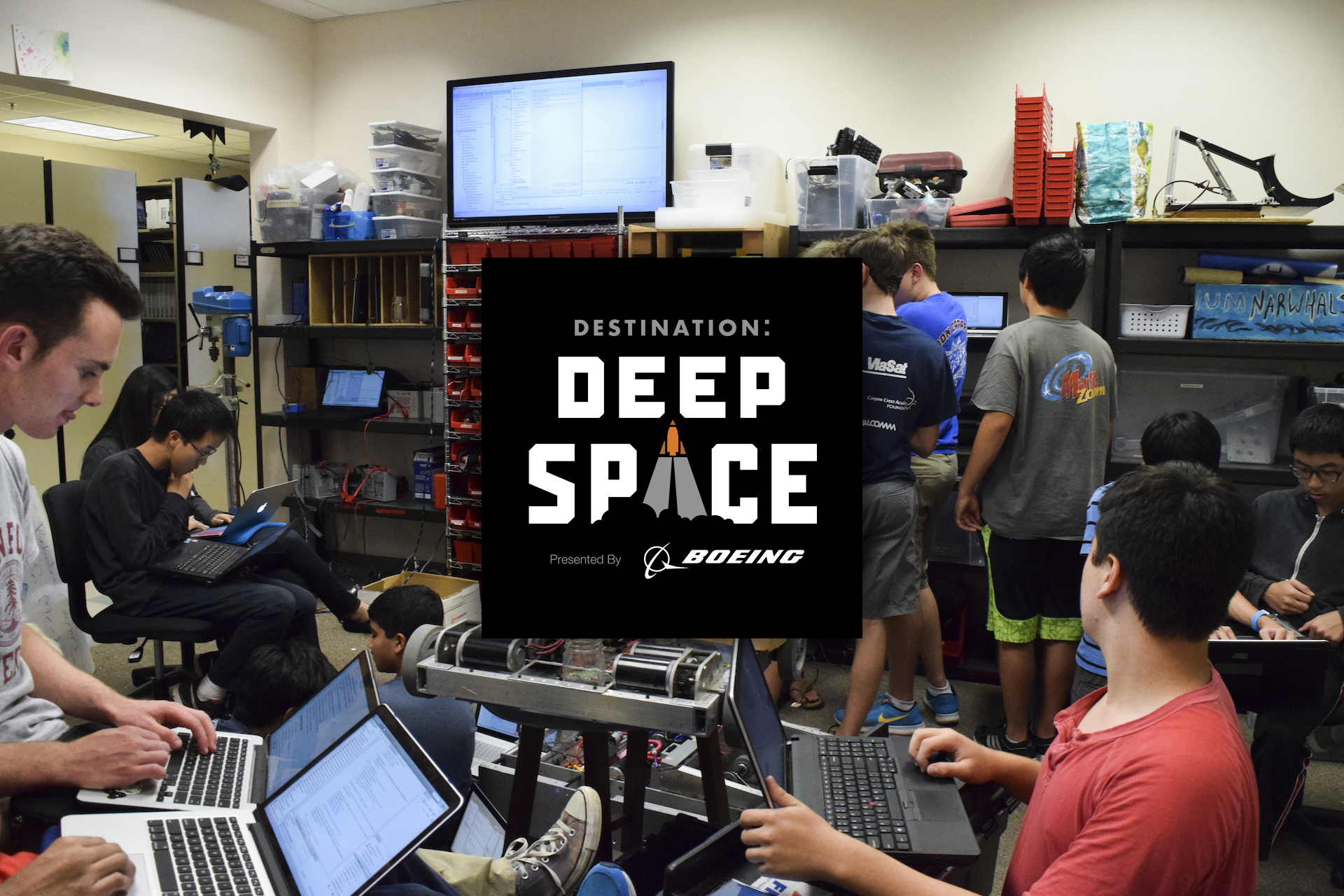 c633a9a97 On January 5th at 7:00am, FIRST released the 2019 FIRST Robotics  Competition game: DESTINATION: DEEP SPACE. Learn more about our new  challenge here!